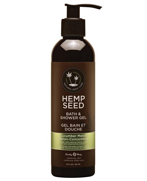 Earthly Body Hemp Seed Bath/Shower Gel - 8 oz Cucumber/Melon - EDO-7755-18 at Sears.com